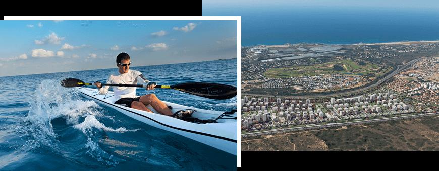 פרויקט אור ים לאיכות חיים ולחוף ים ליד הבית